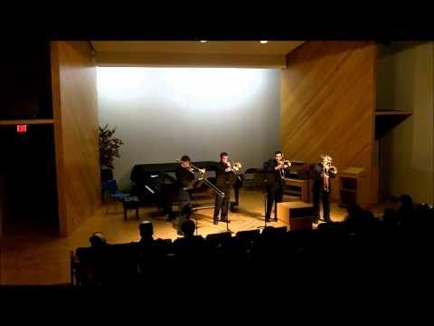 On A Hymnsong of Philip Bliss-Trombone Quartet