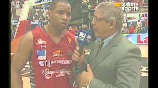 Terrell Holloway Guaros 85-74 Gigantes 03 05 2014