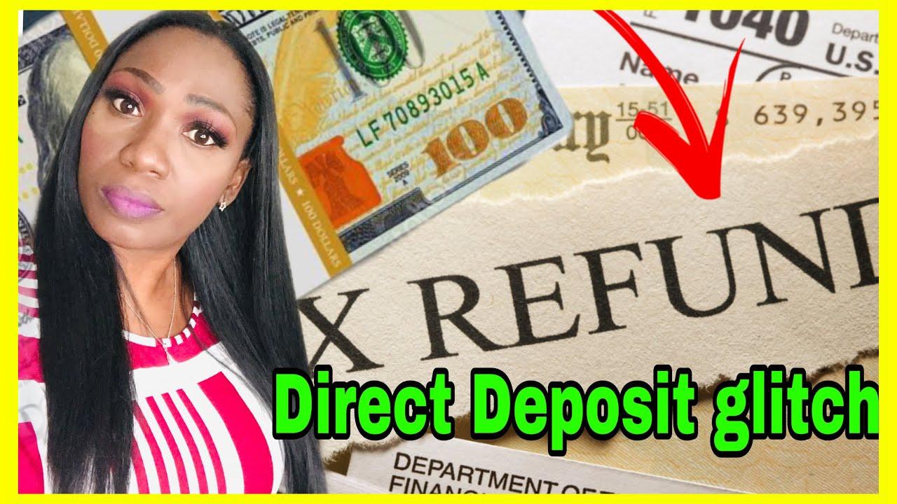 Download Tax refund direct deposit glitch! Unemployment tax refund, amended returns, MAIL CTC
