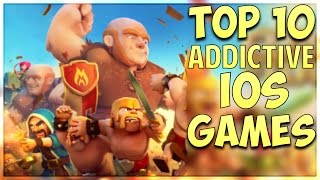 Top 10 Addictive iOS Games (2016)