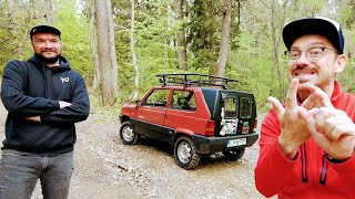 Panda 4x4 = mini G Wagon [Bor Čeh] | Stvar