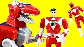 Power Rangers Legacy Collection Morphin Red & Pink Transforming Ranger Pretend Play Toys Just4fun290
