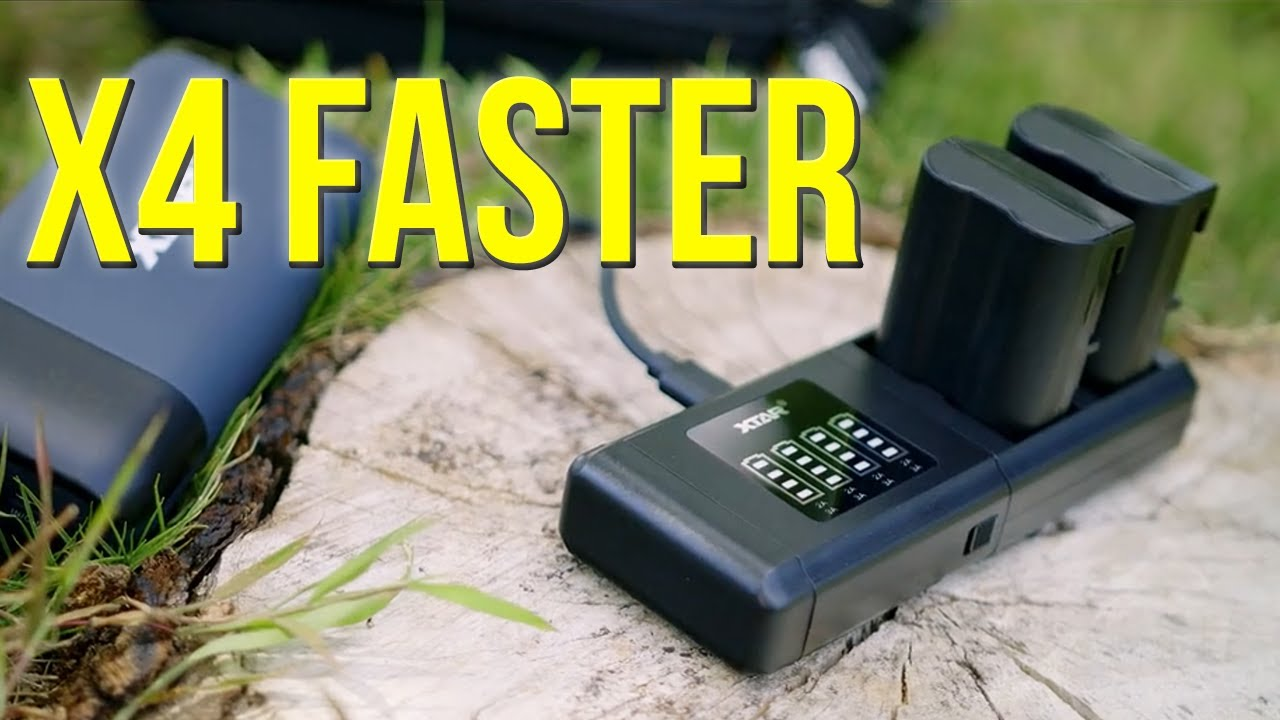 World's Fastest Battery Charger for the BMPCC 6K Pro