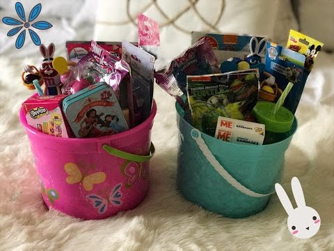 Whats in my kids easter basket!
