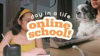 📚🎨 day in a life in online school (Ateneo)