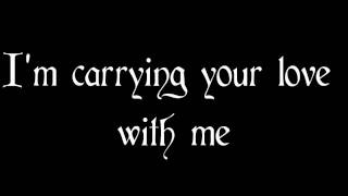 Carrying Your Love With Me - George Strait (Lyrics)