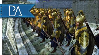 SIEGE AT HELM'S DEEP - Third Age Total War Gameplay thumbnail