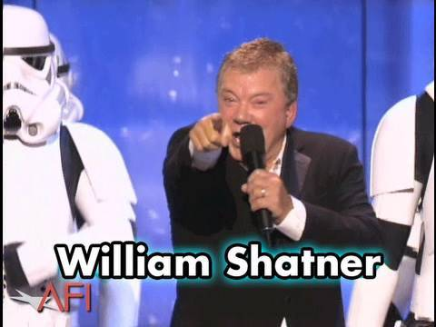 William Shatner Sings To George Lucas