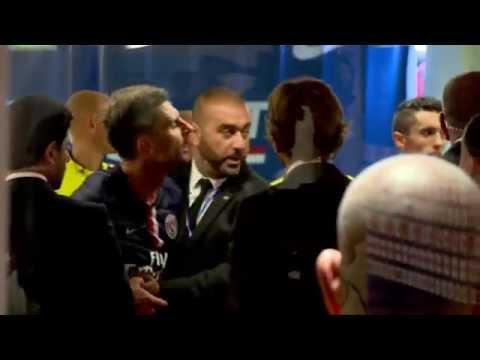 Eklat bei PSG! Brandao bricht Thiago Motta die Nase | Paris Saint-Germain - SC Bastia 2:0