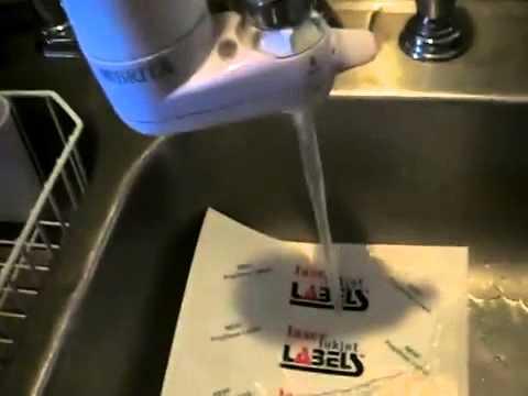 White Water-resistant BOPP for Inkjet Printers