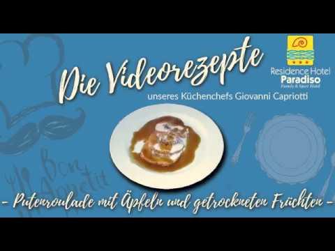 Putenroulade Mit Äpfeln Und Getrockneten Früchten - Hotel Residence Paradiso Villa Rosa - Abruzzen