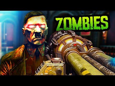 ZOMBIE HITLER BOSS EASTER EGG! (Black Ops 3 Custom Zombies)