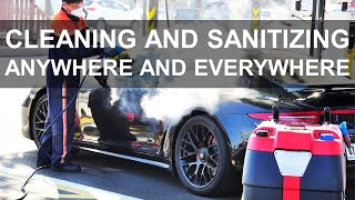 Steam Cleaning and Sanitizing …
