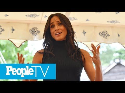 Meghan Markle Give Flawless First Royal Speech Without Notes & Prince Harrys Reaction!  PeopleTV