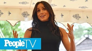 Meghan Markle Give Flawless First Royal Speech Without Notes & Prince Harry's Reaction! | PeopleTV