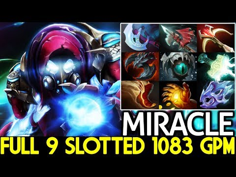Miracle- [Arc Warden] New Favorite Hero Full 9 Slotted What A Play 7.21 Dota 2