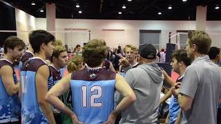 Strike Force - 3rd game - 2020 Daytona Volleyball Tournament