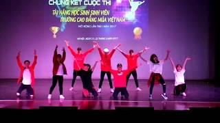 Tiết mục nhảy Hip Hop giao lưu tại Trường Múa