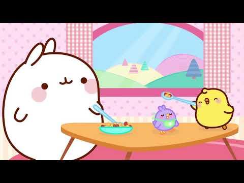 Molang & Piu Piu - Flying Pets | #cutecartoon #funnycartoon #MyBestPets - Cartoon for kids