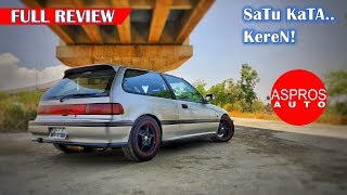 FULL REVIEW HONDA GRAND CIVIC NOUVA SH3 1 3L TAHUN 1991 By ASPROS AUTO