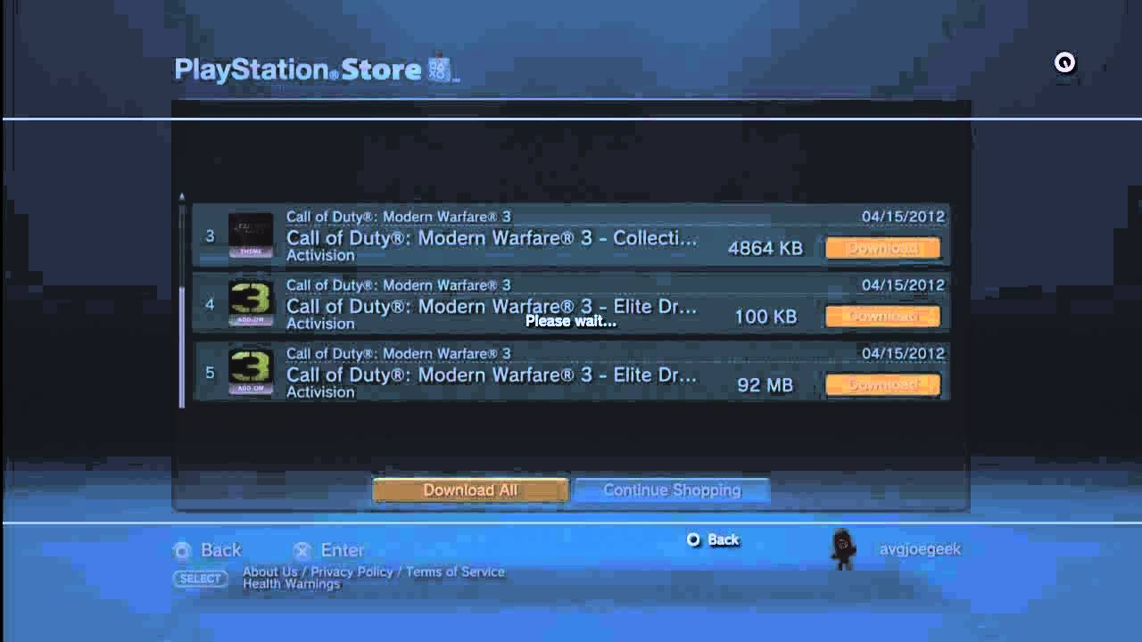 How to Install New Maps for PS3 Call of Duty MW3 DLC