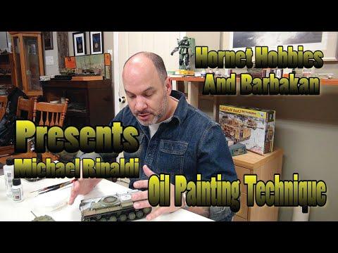 Michael Rinaldi oil painting technique