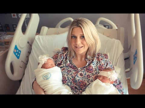 TWINS TWICE! LABOR AND HOSPITAL DELIVERY!  | Birth Story and Family Vlog