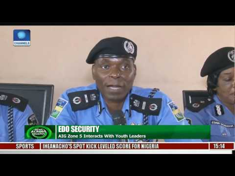 AIG Zone 5 Interacts With Youth Leaders Over Edo Security
