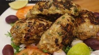 Beef Kofta Kebab Recipe   Kabab Kofte Koobideh Arabic Middle Eastern Cooking