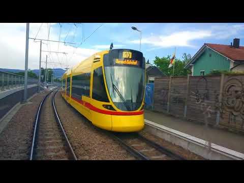 Awesome Basel cross border tram