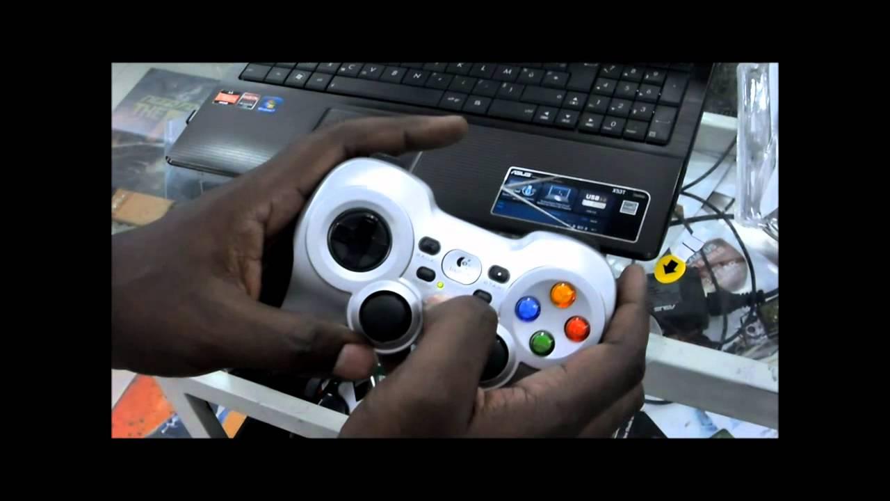 Драйвер для Gamepad F710
