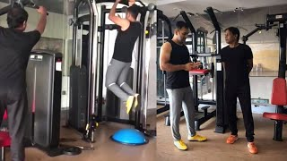 Download Watch:Ms Dhoni's, Workout Session in Jsca Gym, Mumbai