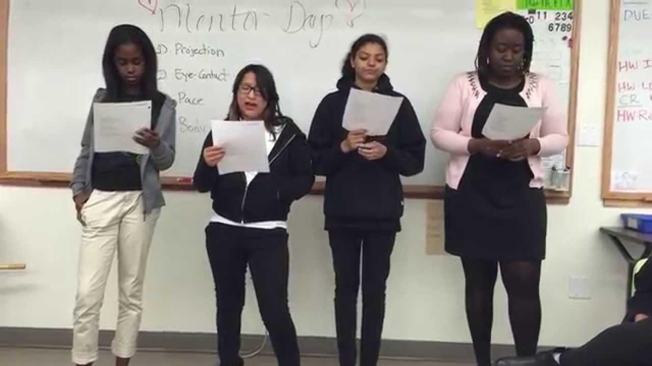 A nice short Poem for an 8th grader?
