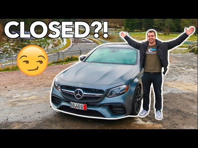 DRIVING THE NURBURGRING WHILE IT WAS CLOSED LOL!!!