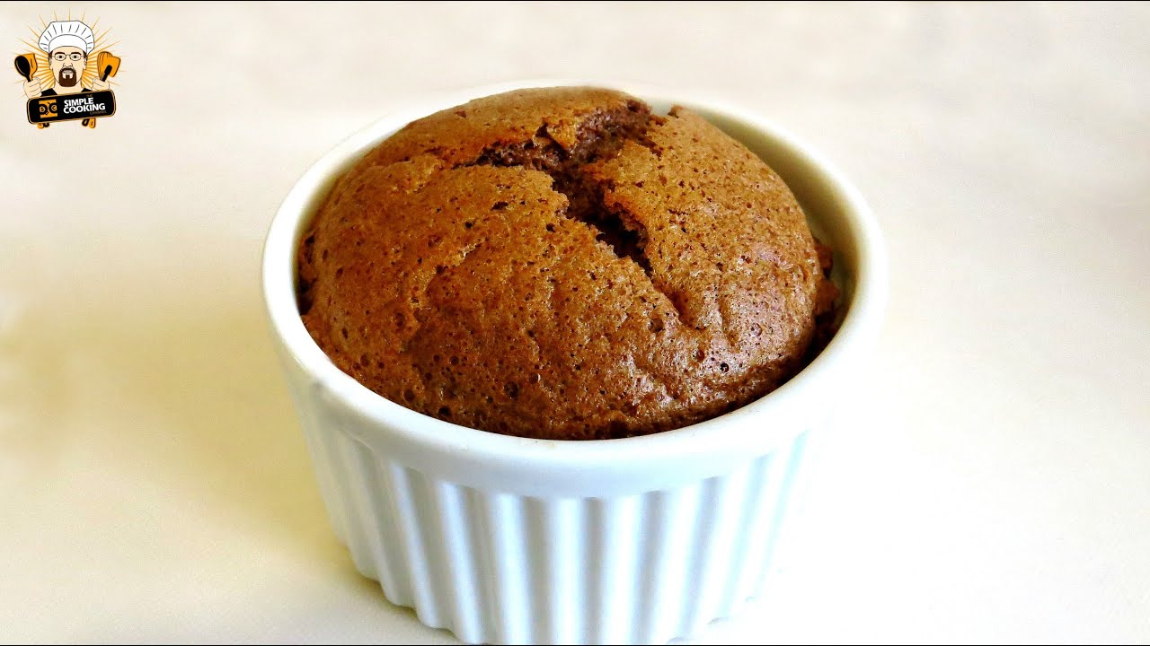 2 INGREDIENT NUTELLA SOUFFLE - YouTube