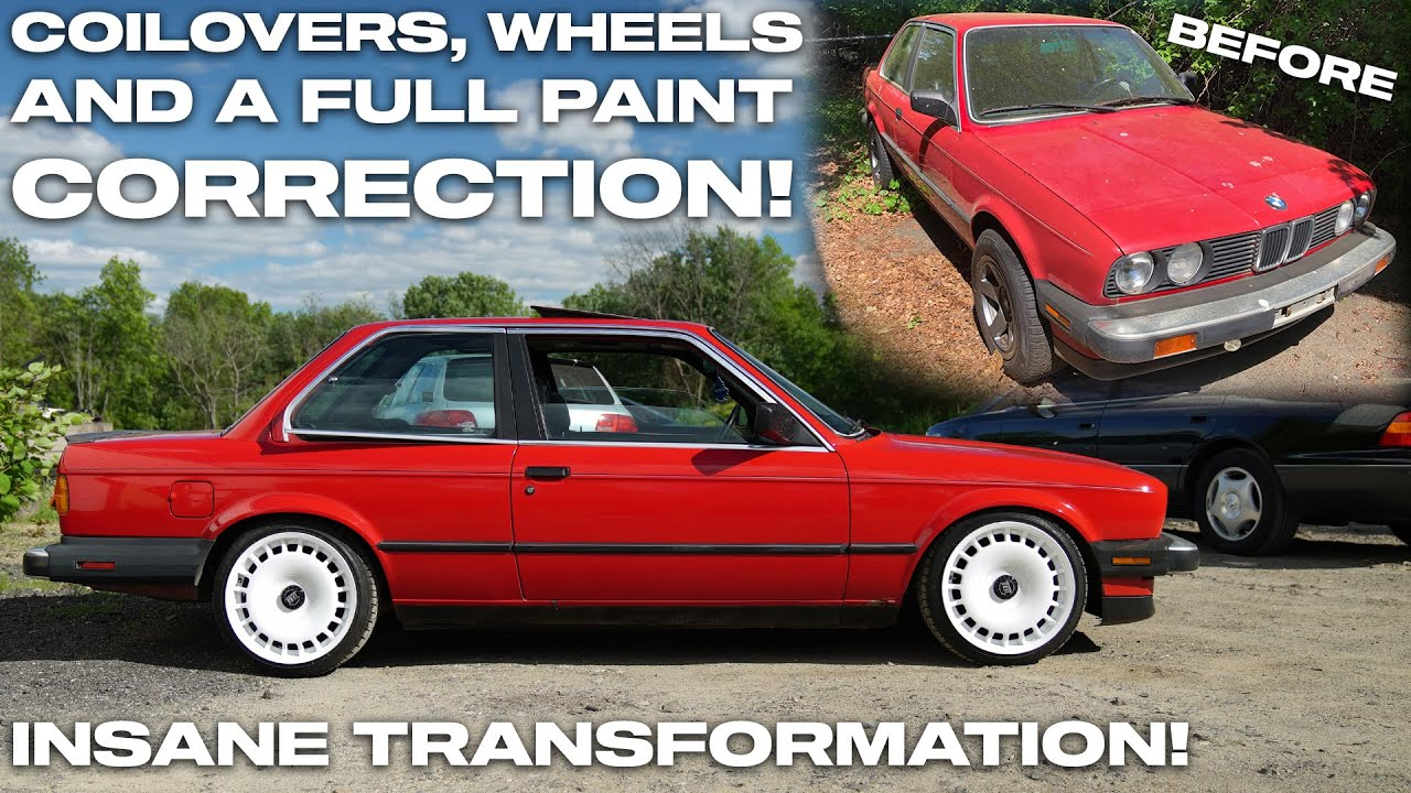 BARN FIND CONDITION BMW E30 GETS RESTORED!