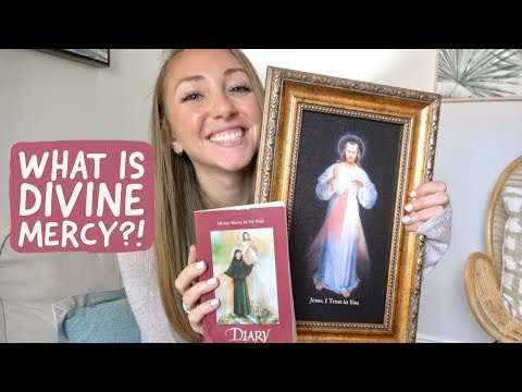 DIVINE MERCY // God's mercy, St. Faustina, the chaplet, novenas, etc.