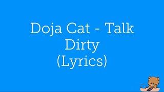 Doja Cat - Talk Dirty Lyrics / Lyric Video [English]