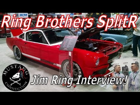 Ring Brothers SplitR 1965 Mustang Fastback Interview with Jim Ring SEMA 2015