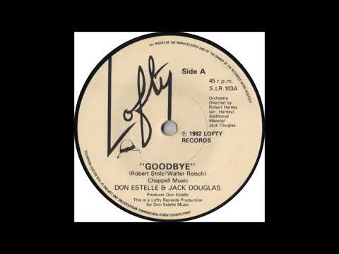 Don Estelle And Jack Douglas * Goodbye