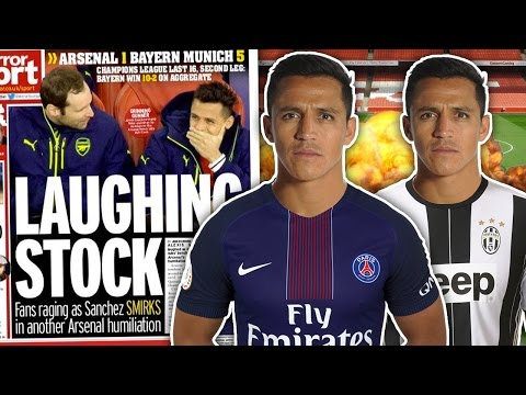 Will Alexis Sanchez QUIT Arsenal For PSG or Juventus?! | Transfer Talk