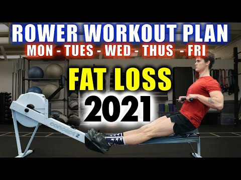 FULL WEEK Rowing Guide for Fat Loss 2020