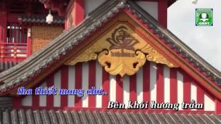 Thăm lại chùa xưa [Karaoke] - Giác An