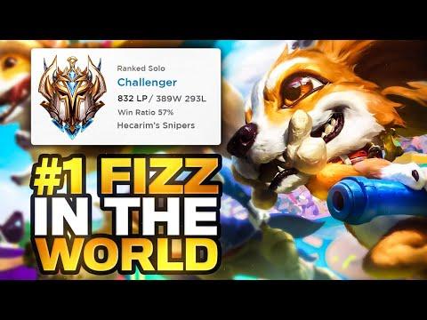 MEET MANGO FISH - THE #1 FIZZ PLAYER IN THE WORLD (KOREAN CHALLENGER)