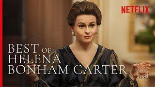 Best of Helena Bonham Carter as Princess Margaret | The Crown