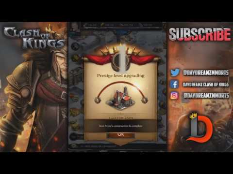 FASTEST PRESTIGE 5 EVER BUILT - 47,000 BADGES & ALL REQUIREMENTS - CLASH OF KINGS
