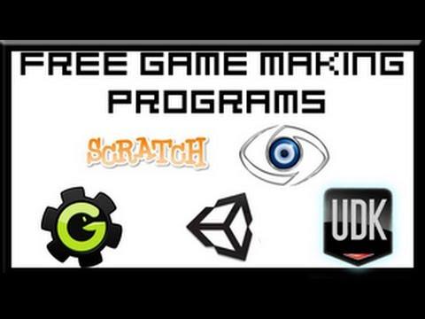 Free Video Game Making Programs