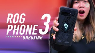 ASUS ROG Phone 3 Unboxing: The gaming beast is back!