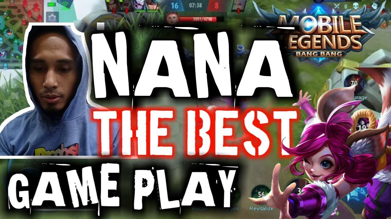 BEST GAMEPLAY NANA 2020 ||MOBILE LEGENDS||WA GAMING
