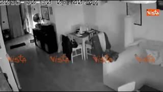 Terremoto 30 Ottobre 2016, la scossa a Roma Nord filmata dalle telecamere di sorveglianza